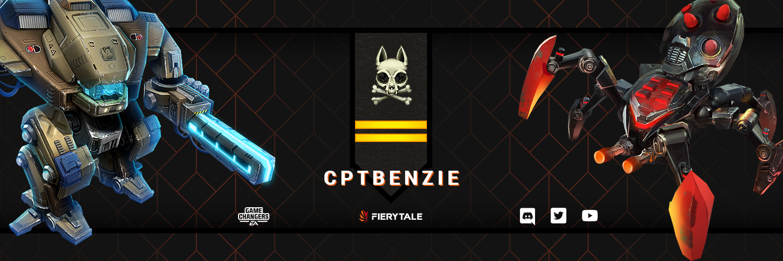 Captain Benzie - Social Media Banner